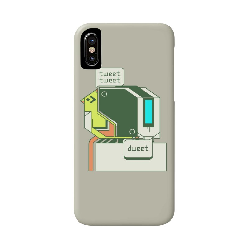 Tweet Tweet Dweet Accessories Phone Case by Spencer Fruhling's Artist Shop