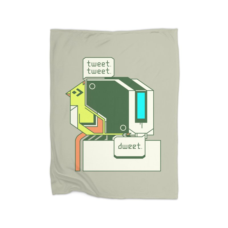 Tweet Tweet Dweet Home Blanket by Spencer Fruhling's Artist Shop