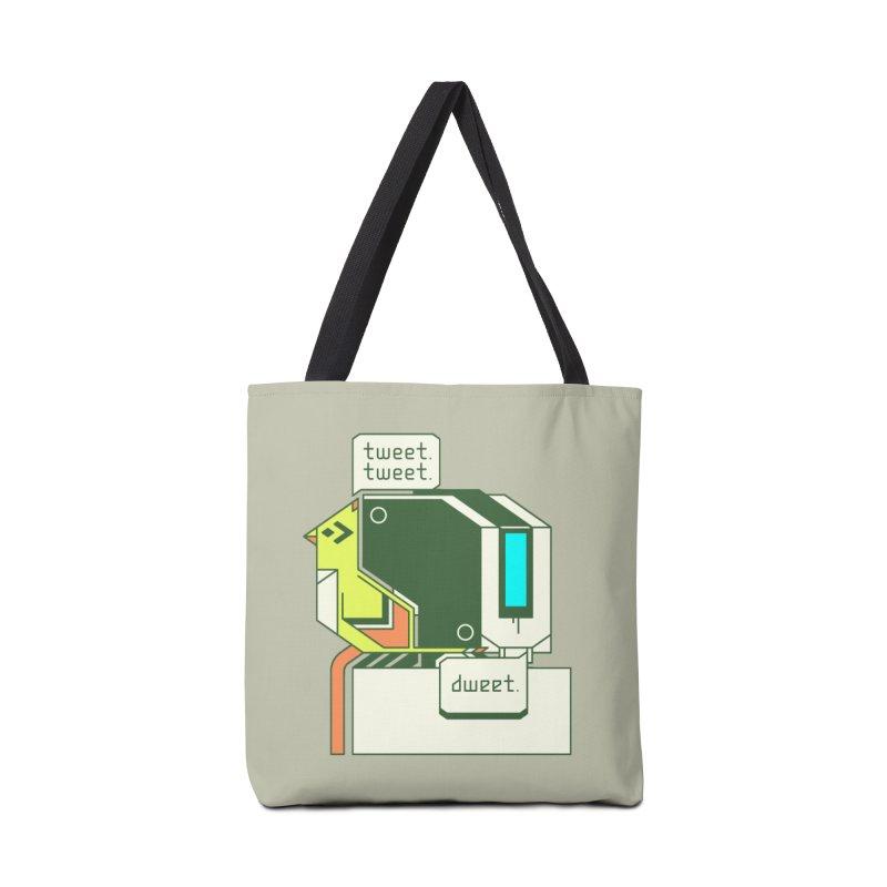 Tweet Tweet Dweet Accessories Bag by Spencer Fruhling's Artist Shop