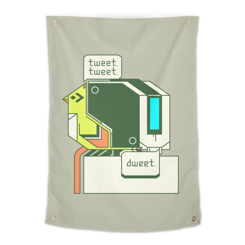 Tweet Tweet Dweet Home Tapestry by Spencer Fruhling's Artist Shop