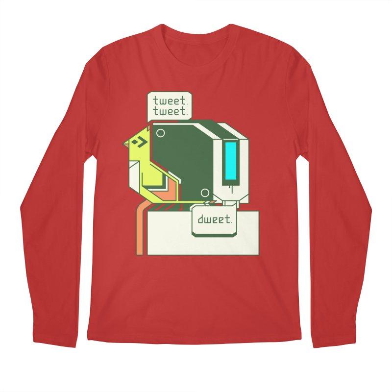 Tweet Tweet Dweet Men's Longsleeve T-Shirt by Spencer Fruhling's Artist Shop