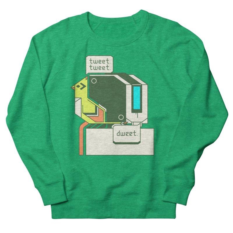 Tweet Tweet Dweet Men's French Terry Sweatshirt by Spencer Fruhling's Artist Shop