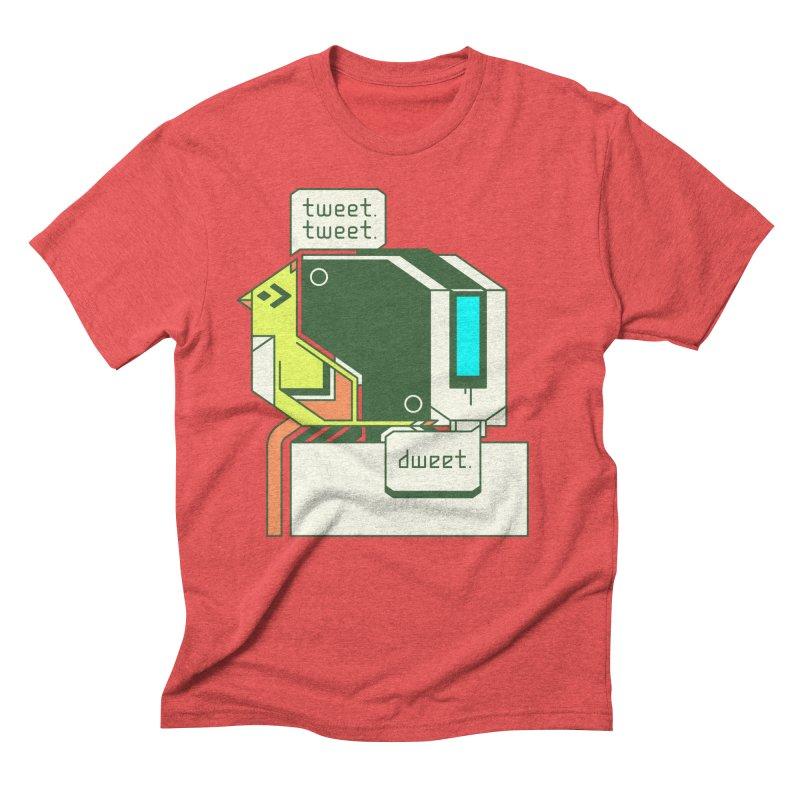 Tweet Tweet Dweet Men's Triblend T-Shirt by Spencer Fruhling's Artist Shop