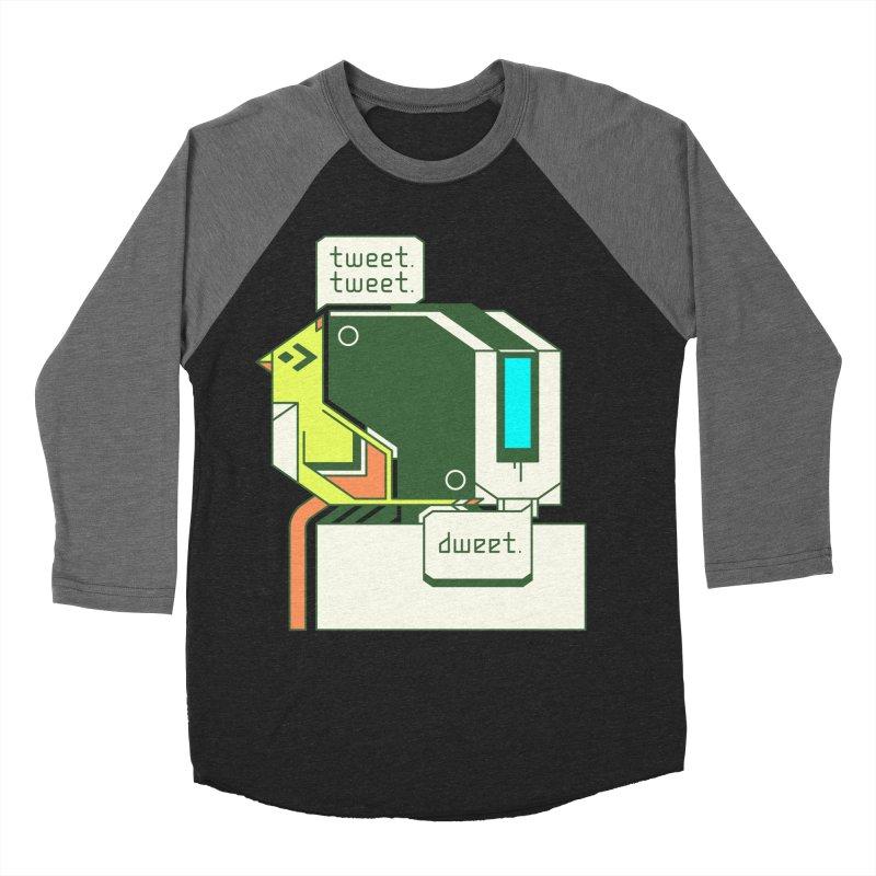 Tweet Tweet Dweet Men's Baseball Triblend T-Shirt by Spencer Fruhling's Artist Shop