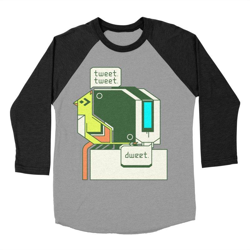 Tweet Tweet Dweet Men's Baseball Triblend Longsleeve T-Shirt by Spencer Fruhling's Artist Shop