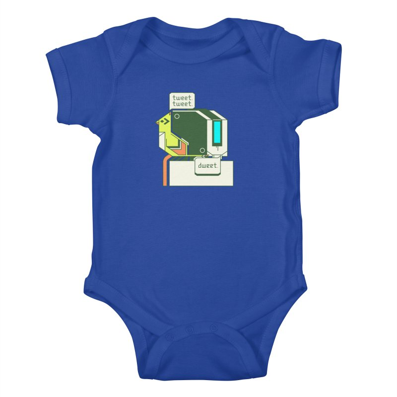 Tweet Tweet Dweet Kids Baby Bodysuit by Spencer Fruhling's Artist Shop