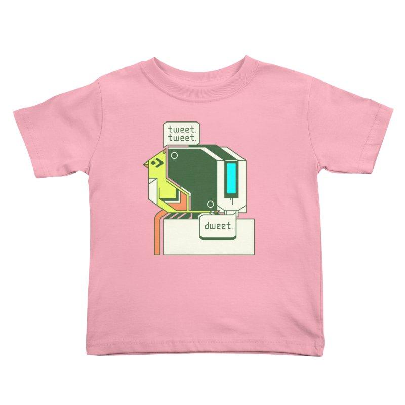 Tweet Tweet Dweet Kids Toddler T-Shirt by Spencer Fruhling's Artist Shop