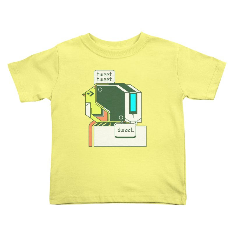 Tweet Tweet Dweet Kids Toddler T-Shirt by Spencer Fruhling's Artist Shop
