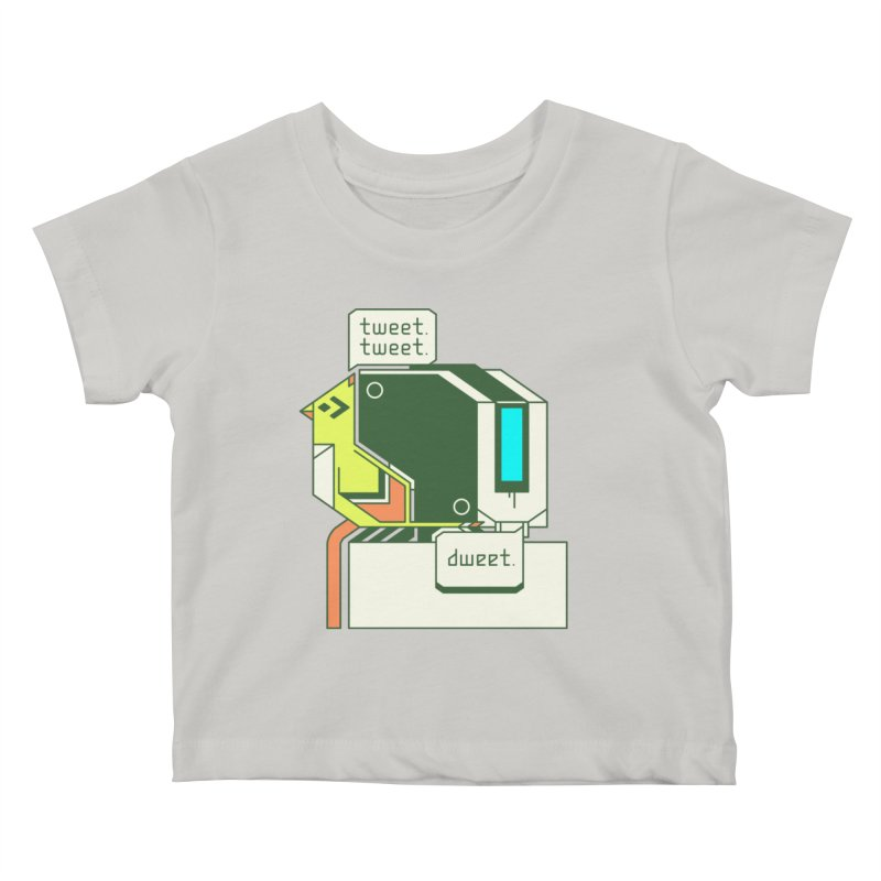 Tweet Tweet Dweet Kids Baby T-Shirt by Spencer Fruhling's Artist Shop