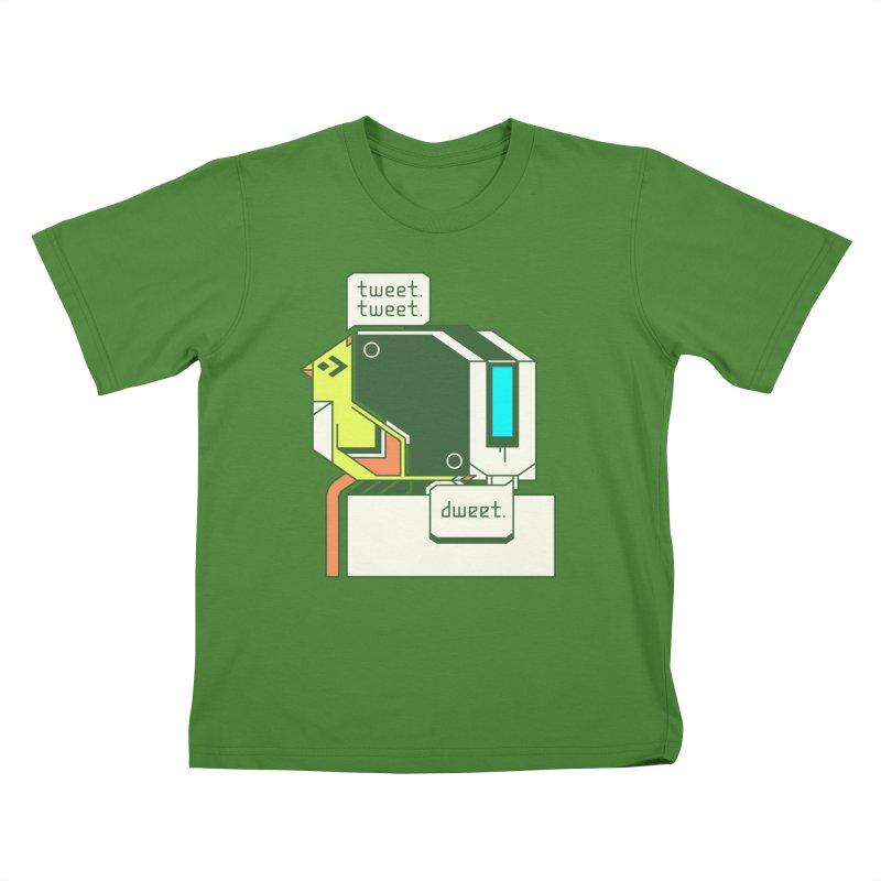Tweet Tweet Dweet Kids T-Shirt by Spencer Fruhling's Artist Shop