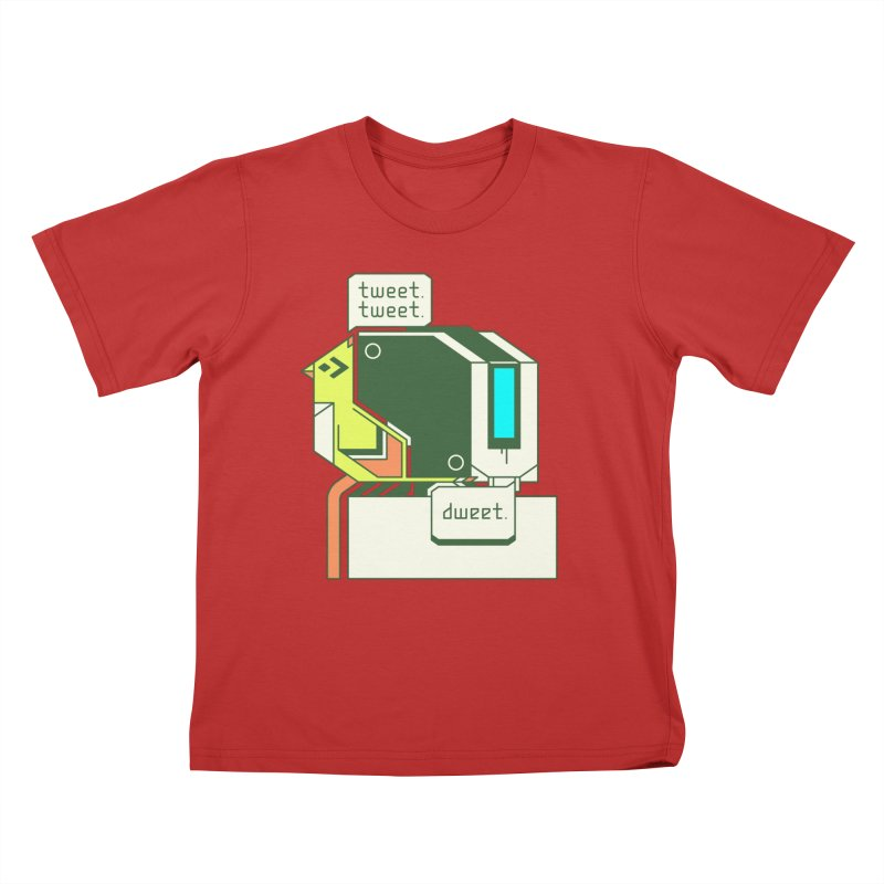 Tweet Tweet Dweet Kids T-Shirt by Spencer Fruhling's Artist Shop
