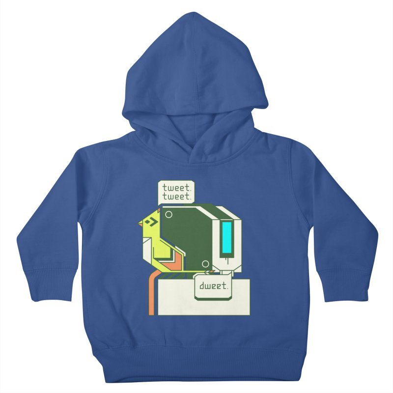 Tweet Tweet Dweet Kids Toddler Pullover Hoody by Spencer Fruhling's Artist Shop