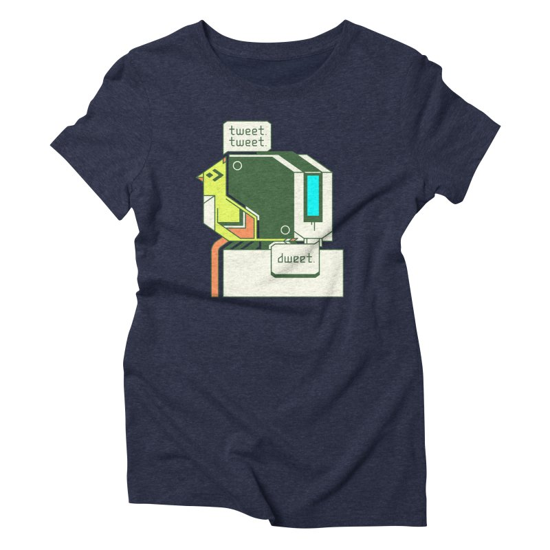 Tweet Tweet Dweet Women's Triblend T-Shirt by Spencer Fruhling's Artist Shop