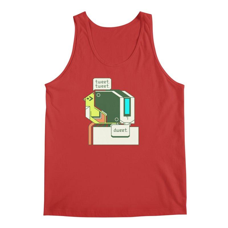 Tweet Tweet Dweet Men's Tank by Spencer Fruhling's Artist Shop