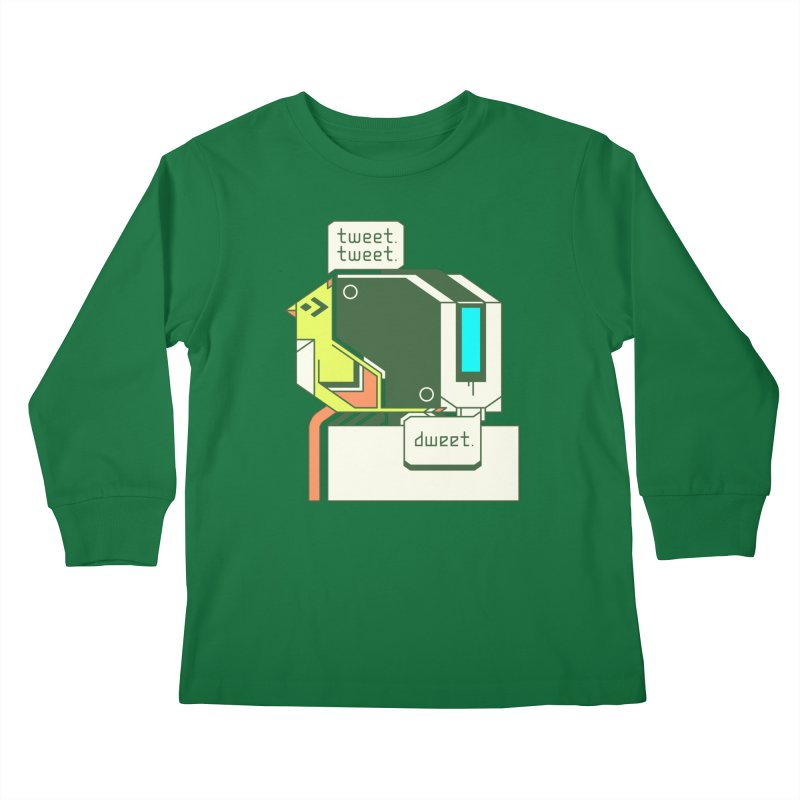 Tweet Tweet Dweet Kids Longsleeve T-Shirt by Spencer Fruhling's Artist Shop