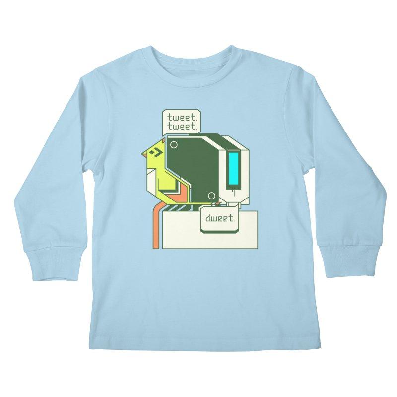 Tweet Tweet Dweet Kids Longsleeve T-Shirt by Spencer Fruhling's Artist Shop