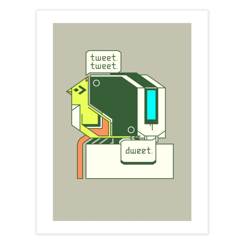 Tweet Tweet Dweet Home Fine Art Print by Spencer Fruhling's Artist Shop
