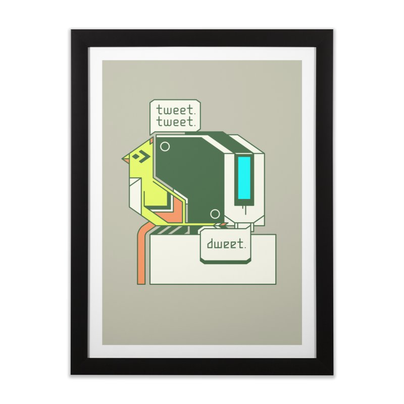 Tweet Tweet Dweet Home Framed Fine Art Print by Spencer Fruhling's Artist Shop
