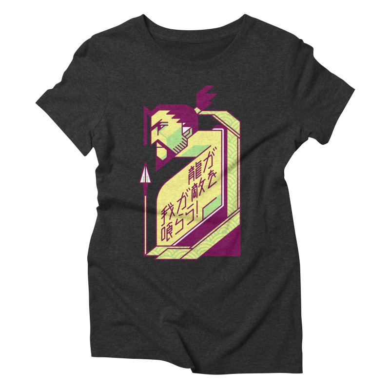 Let the Dragon Consume You Women's Triblend T-Shirt by Spencer Fruhling's Artist Shop