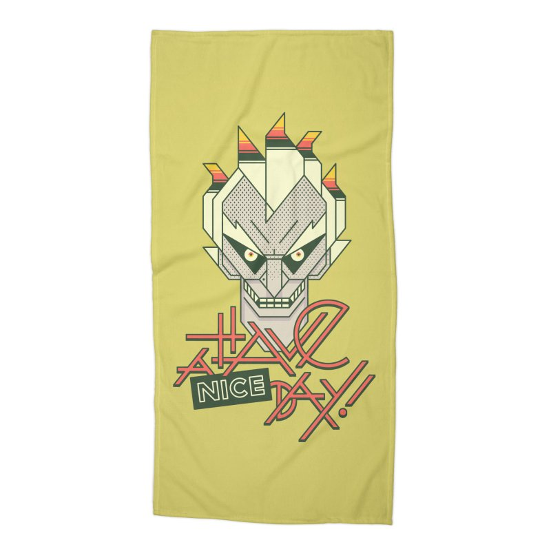 Have A Nice Day! Accessories Beach Towel by Spencer Fruhling's Artist Shop