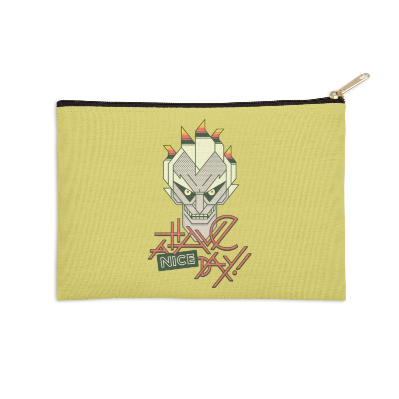 Have A Nice Day! Accessories Zip Pouch by Spencer Fruhling's Artist Shop