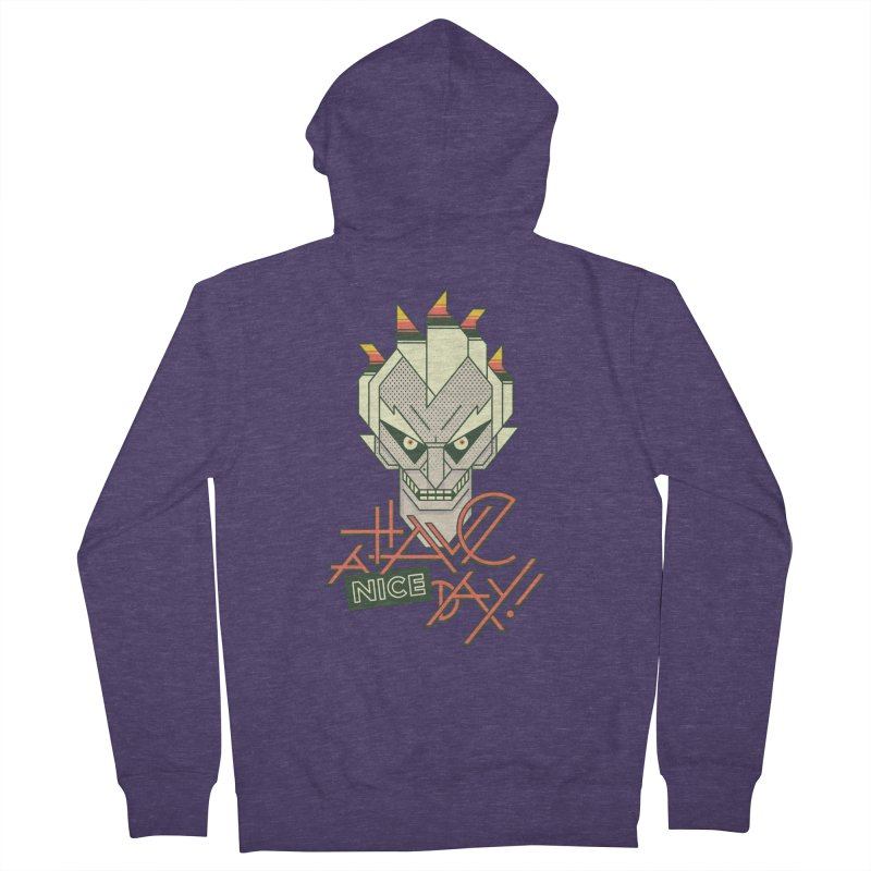 Have A Nice Day! Men's Zip-Up Hoody by Spencer Fruhling's Artist Shop