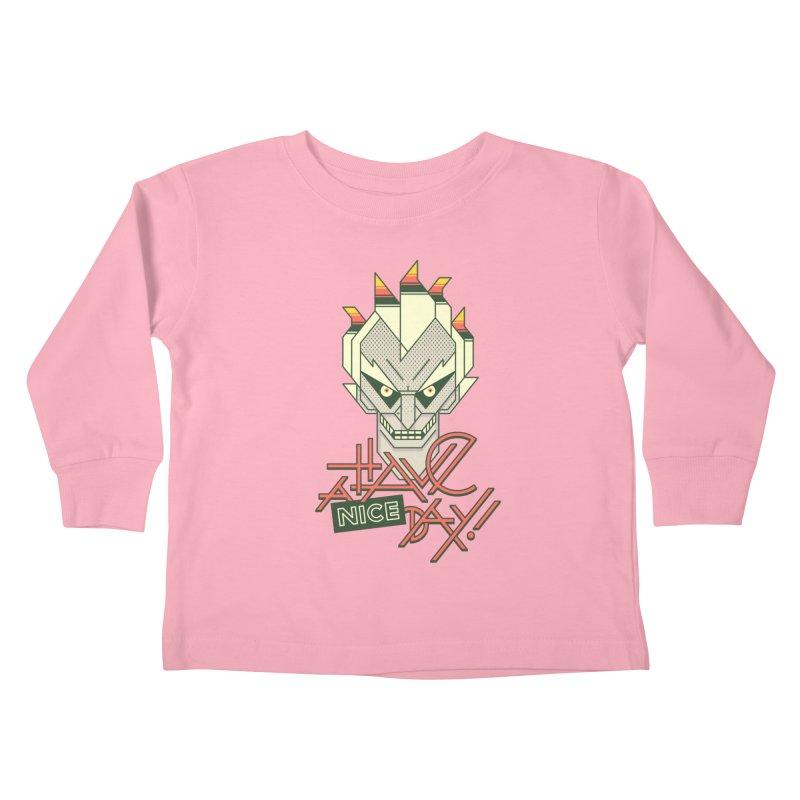 Have A Nice Day! Kids Toddler Longsleeve T-Shirt by Spencer Fruhling's Artist Shop