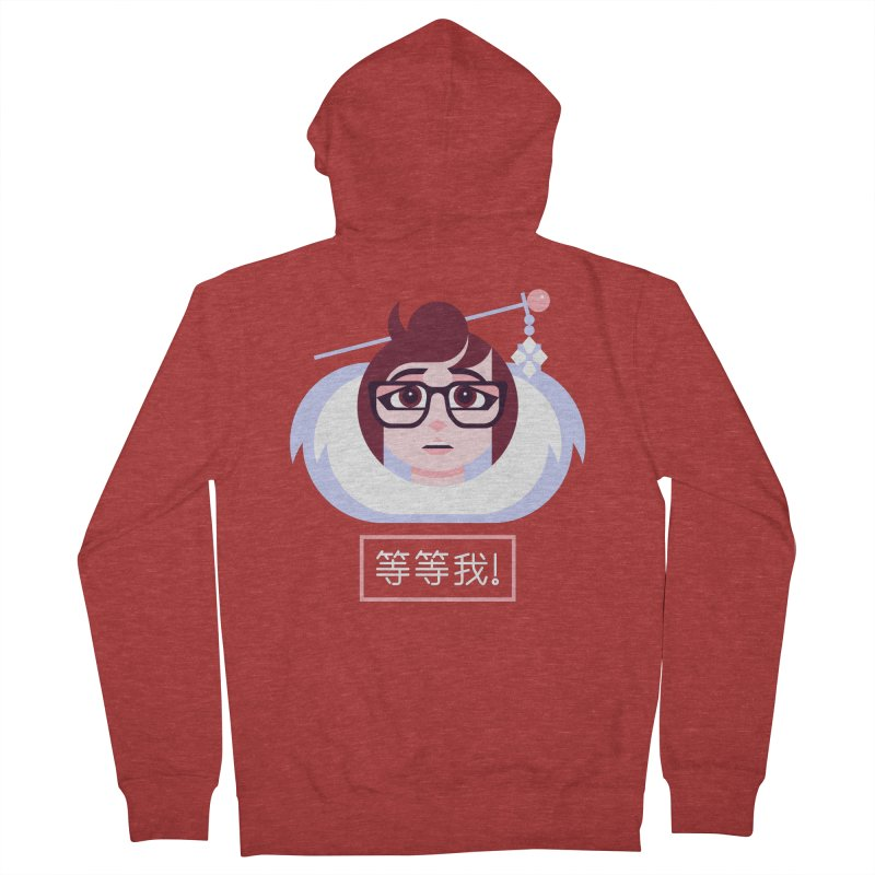 Wait For Me! Women's Zip-Up Hoody by Spencer Fruhling's Artist Shop