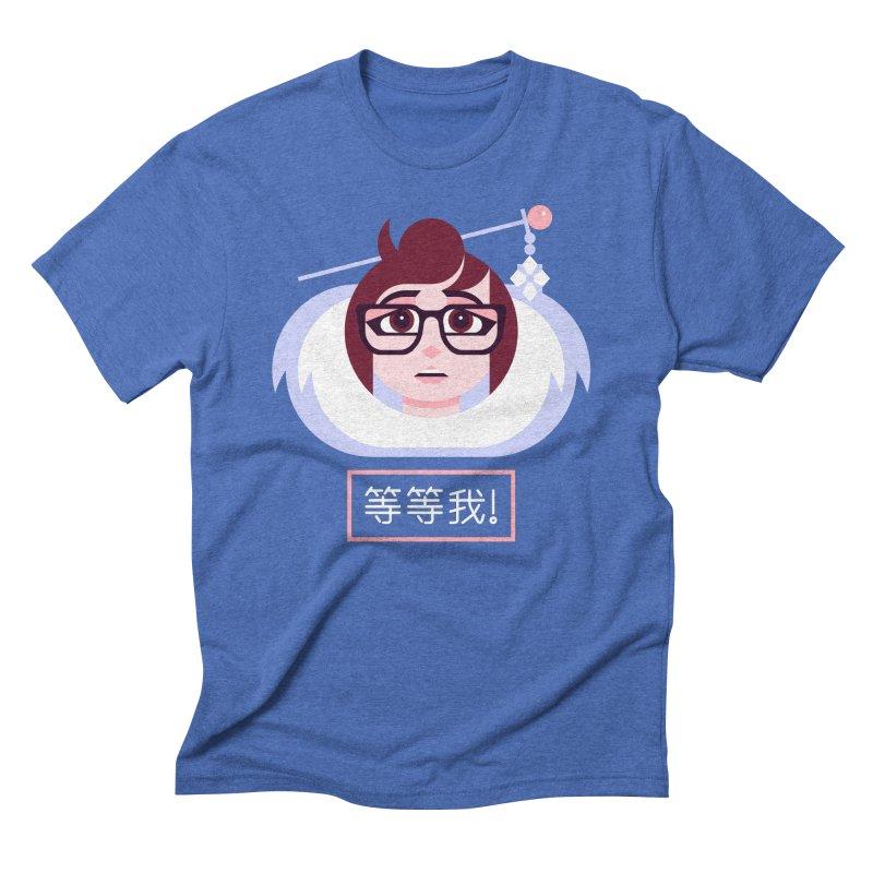 Wait For Me! Men's Triblend T-Shirt by Spencer Fruhling's Artist Shop