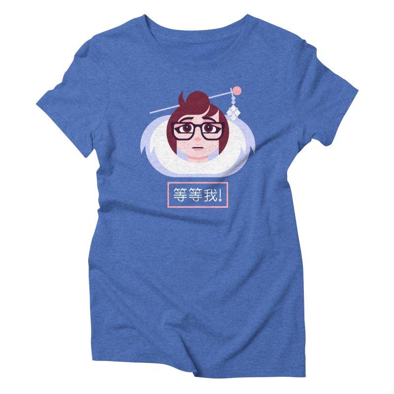 Wait For Me! Women's Triblend T-Shirt by Spencer Fruhling's Artist Shop
