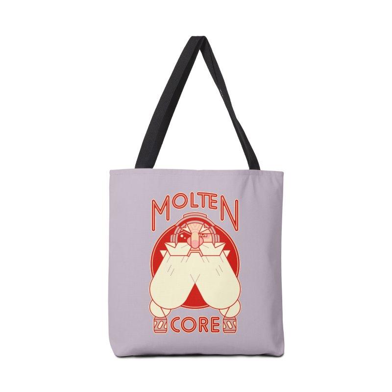 Molten Core Accessories Bag by Spencer Fruhling's Artist Shop