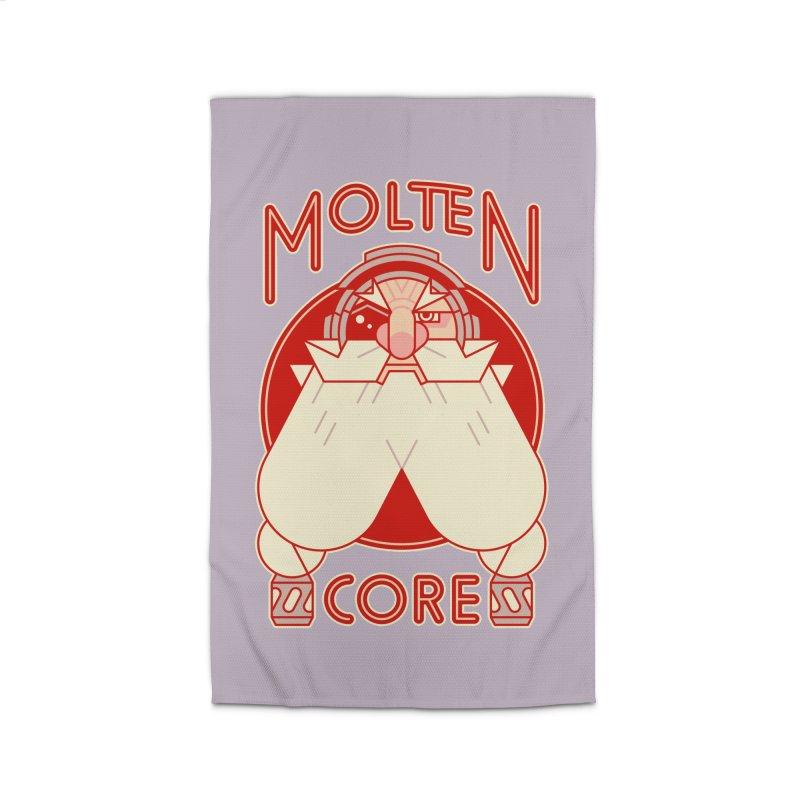 Molten Core Home Rug by Spencer Fruhling's Artist Shop