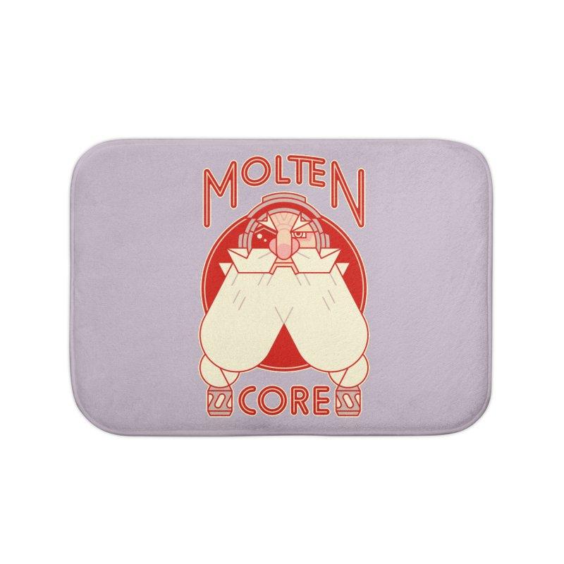 Molten Core Home Bath Mat by Spencer Fruhling's Artist Shop