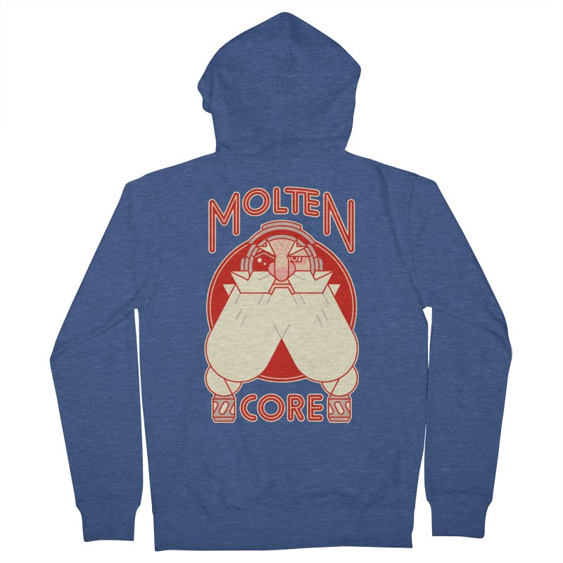 Molten Core Women's French Terry Zip-Up Hoody by Spencer Fruhling's Artist Shop