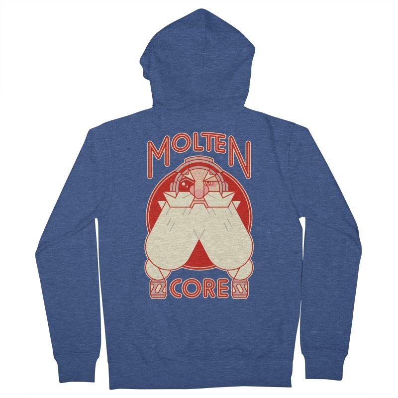 Molten Core Men's Zip-Up Hoody by Spencer Fruhling's Artist Shop