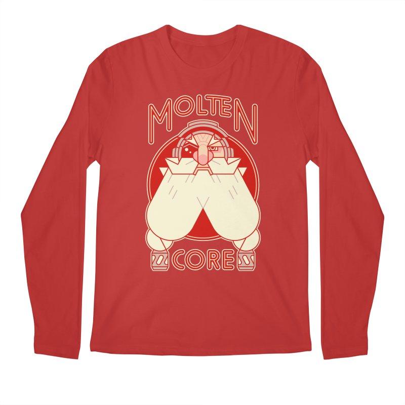 Molten Core Men's Longsleeve T-Shirt by Spencer Fruhling's Artist Shop