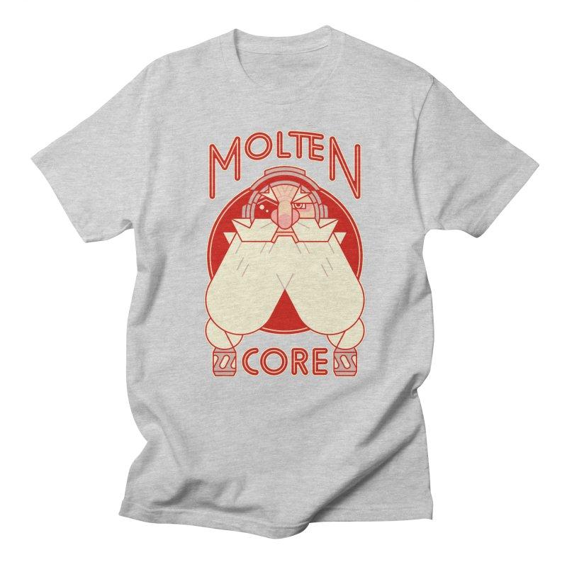 Molten Core Women's Unisex T-Shirt by Spencer Fruhling's Artist Shop