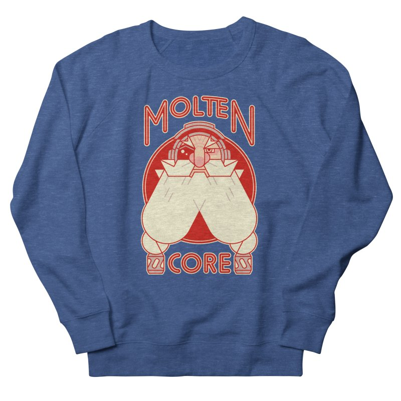 Molten Core Men's French Terry Sweatshirt by Spencer Fruhling's Artist Shop