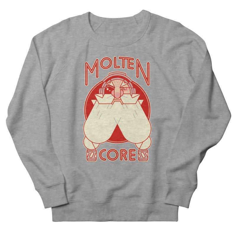 Molten Core Men's Sweatshirt by Spencer Fruhling's Artist Shop