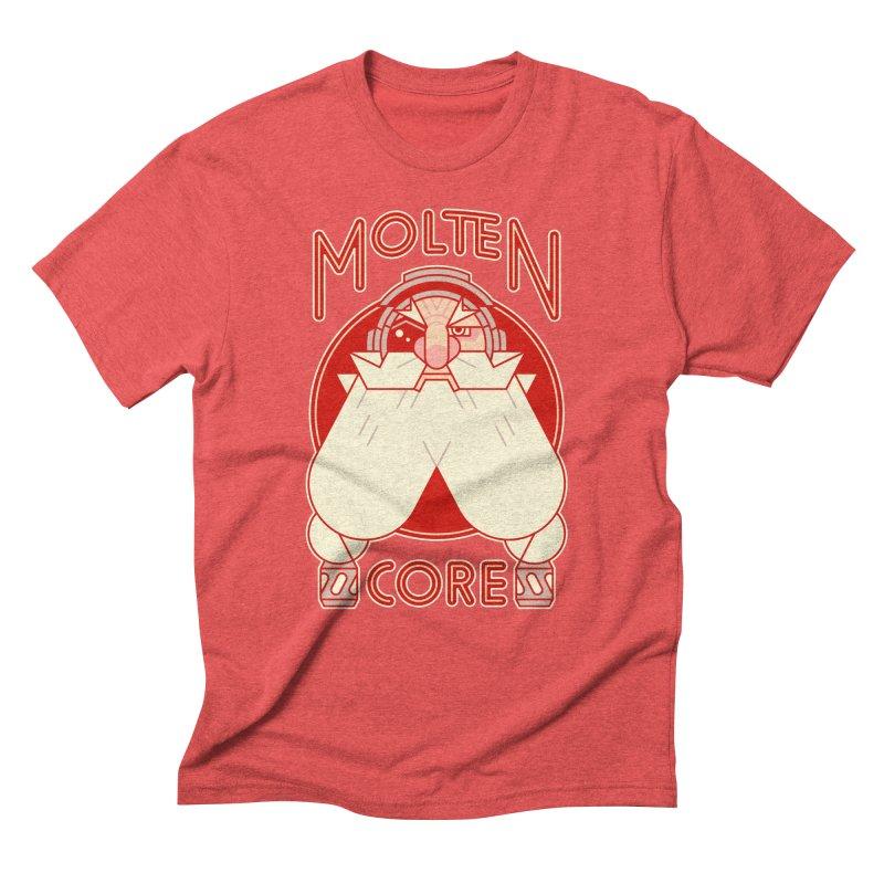 Molten Core Men's Triblend T-Shirt by Spencer Fruhling's Artist Shop