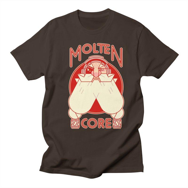 Molten Core Men's T-Shirt by Spencer Fruhling's Artist Shop