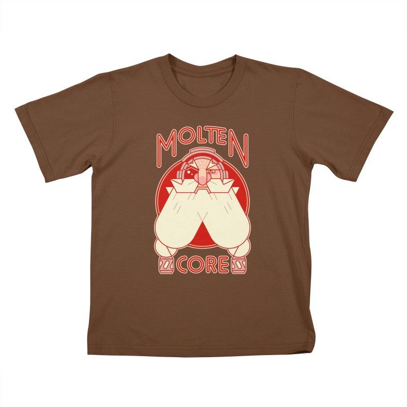 Molten Core Kids T-Shirt by Spencer Fruhling's Artist Shop