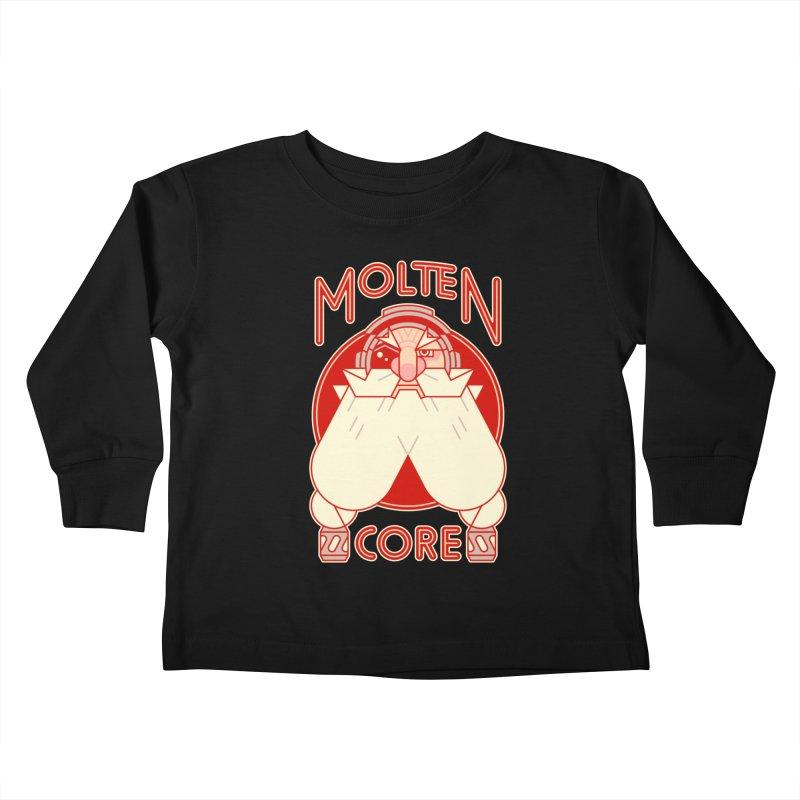 Molten Core Kids Toddler Longsleeve T-Shirt by Spencer Fruhling's Artist Shop