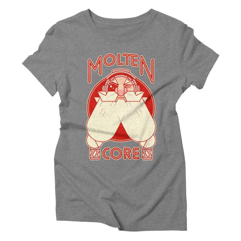Molten Core Women's Triblend T-Shirt by Spencer Fruhling's Artist Shop