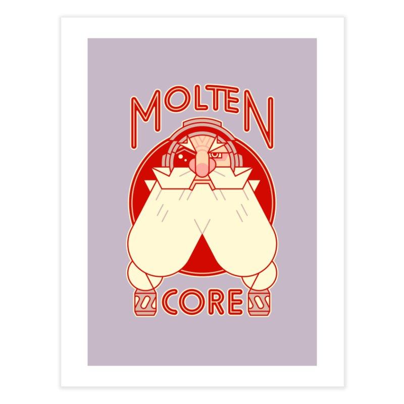 Molten Core Home Fine Art Print by Spencer Fruhling's Artist Shop