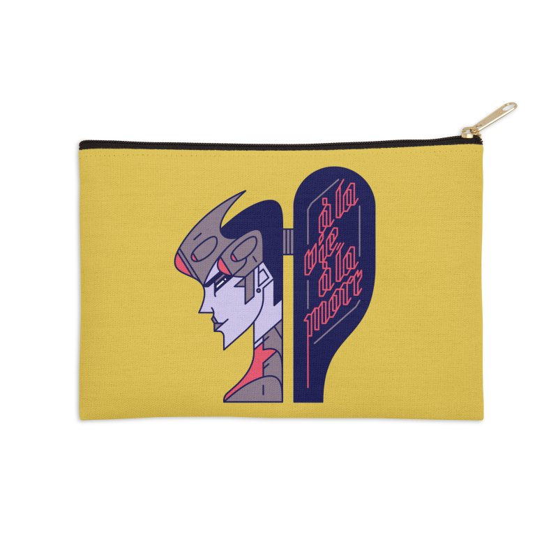 To Life, To Death Accessories Zip Pouch by Spencer Fruhling's Artist Shop