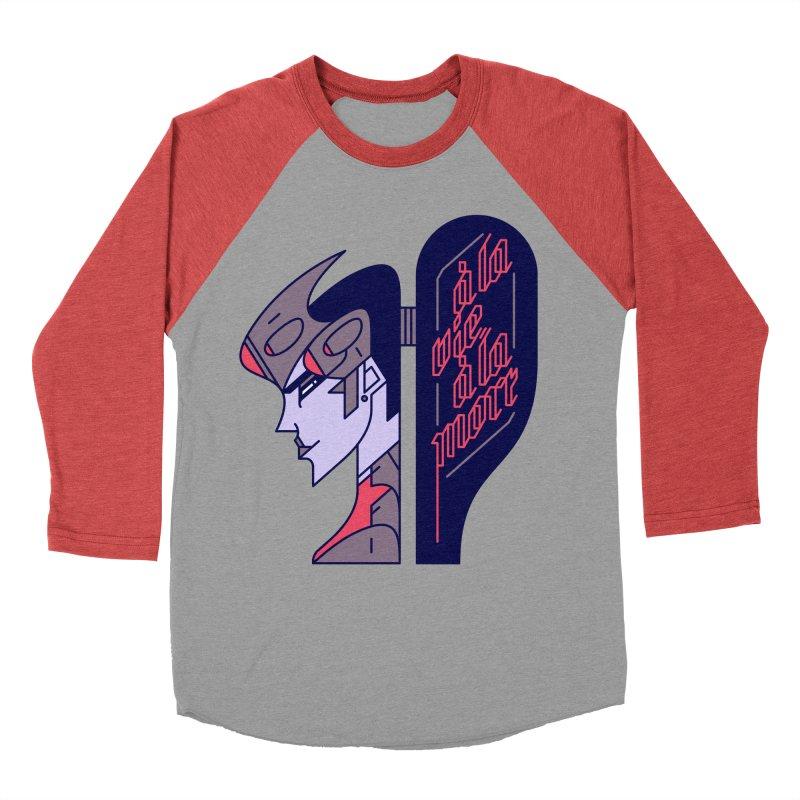 To Life, To Death Men's Baseball Triblend Longsleeve T-Shirt by Spencer Fruhling's Artist Shop