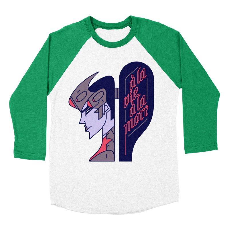 To Life, To Death Men's Baseball Triblend T-Shirt by Spencer Fruhling's Artist Shop