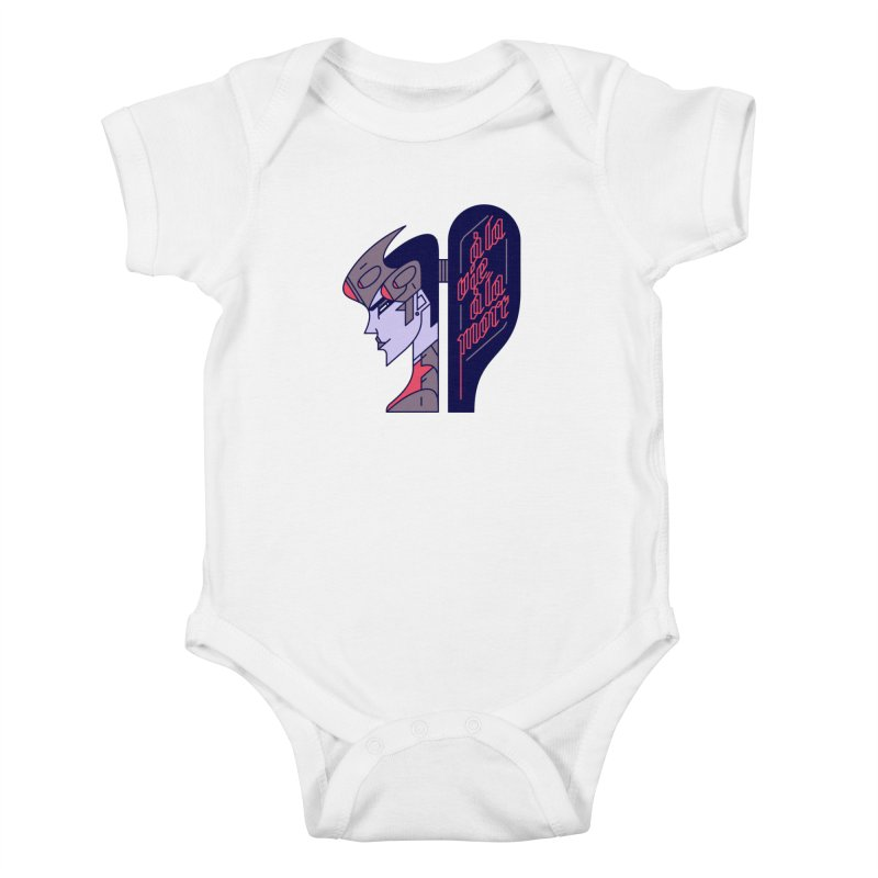 To Life, To Death Kids Baby Bodysuit by Spencer Fruhling's Artist Shop