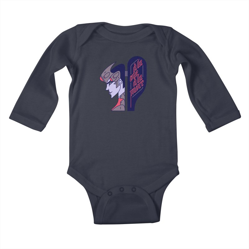 To Life, To Death Kids Baby Longsleeve Bodysuit by Spencer Fruhling's Artist Shop